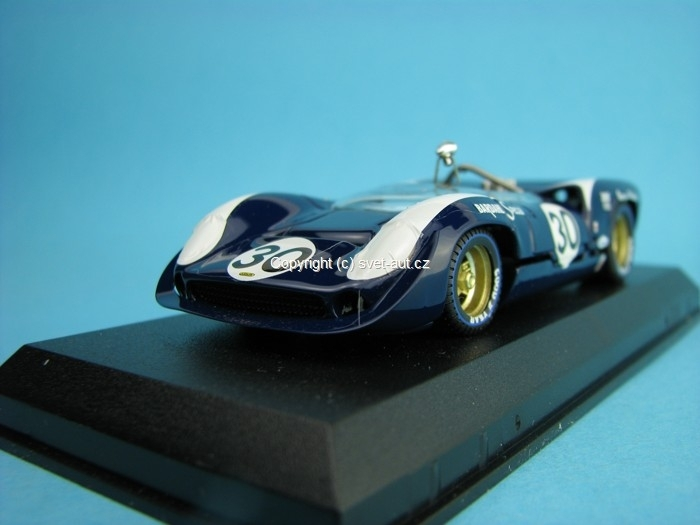 Lola T70 Spyder No.30 Bridgehampton 1966 Gurney 1:43 Best